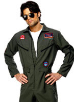 Adult Top Gun Pilot Costume [36287]