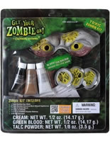 Toxic Zombie Make Up Kit