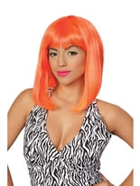 Nicki Minaj Tropical Flava Orange Wig