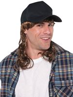 Trucker Mullet Hat Black [841669-55]
