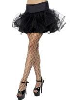 Adult Black Tulle Petticoat
