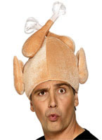 Adult Christmas Turkey Hat