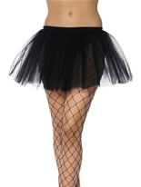Adult Black Tutu Underskirt