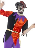 Adult Twisted Jester Costume