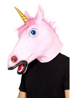 Unicorn Latex Mask [48874]