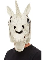 Unicorn Skull Latex Mask [50826]