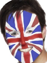 Union Jack Face Painting Kit