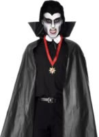 Vampire Cape Black Pvc