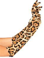 Adult Leopard Gloves