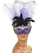 Venetian Colombina Multicolour Mask