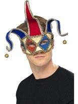 Venetian Musical Jester Eyemask [38987]