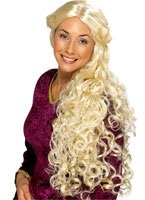 Very Long Guinevere Wig Blonde
