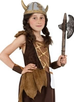 Child Viking Girls Childrens Costume