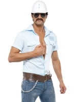 Adult Village People Construction Worker Costume [36236]