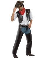 Adult Village People Cowboy Costume [36238]