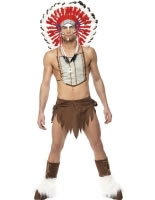 Adult Village People Indian Costume