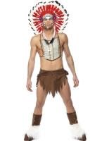 Adult Village People Indian Costume [36241]