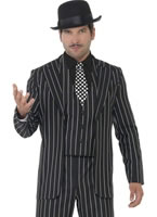 Adult Vintage Gangster Boss Costume
