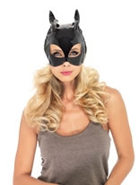 Adult Vinyl Cat Mask [V1013]