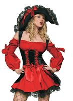 Adult Vixen Pirate Wench Costume [83157]