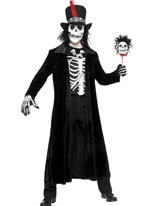 Adult Skeleton Voodoo Man Costume [30403]