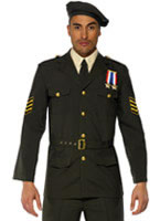 Adult Wartime Officer Costume