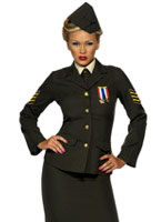 Adult Wartime Officer Costume [35335]
