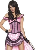Adult Western Authentic Brothel Babe Costume