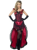 Adult Western Authentic Brothel Babe Costume [45233]