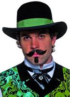 Western Gambler Hat [36337]