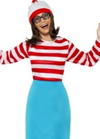 Where's Wally Wanda Female Costume