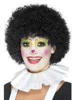 White Clown Neck Ruffle