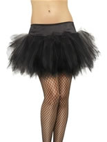 Black Frilly Tutu