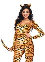 Adult Wild Tigeress Costume [83895]