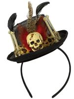 Witch Doctor Top Hat Handband [847586-55]