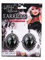 Witches Cameo Earings