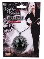 Witches Cameo Necklace