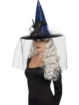 Blue Witches Hat