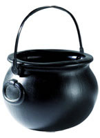PVC Black Witches Cauldron
