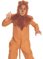 Wizard of Oz Cowardly Lion Childrens Costume