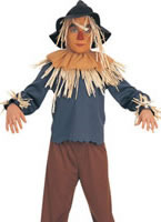 Wizard of Oz Scarecrow Childrens Costume