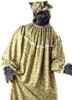 Adult Wolf Granny Costume [01047]