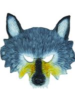 Wolf Mask Half Face