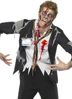 Worked to Death Office Zombie Costume