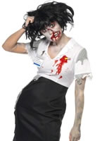 Adult Worked to Death Zombie Female Costume [21584]