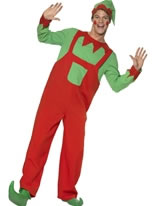 Adult Workshop Elf Costume [33152]