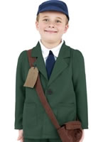 Child World War II Evacuee Boy Costume