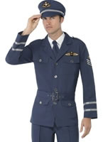 Adult WW2 Air Force Male Captain Costume [38830]