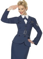 Adult WW2 Air Force Female Captain Costume [35527]