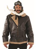 Adult Biggles WW2 Wartime Fighter Pilot Costume